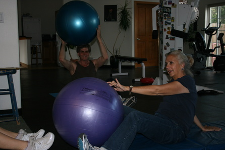 Ball Exercise, Overall Fitness Classes, Santa Fe, NM